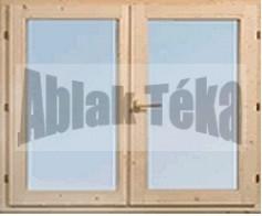 Műanyag ablak 120×120